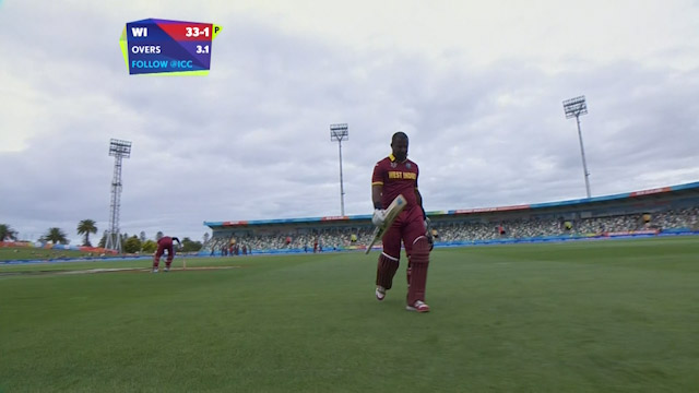 Dwayne Smith Wicket – WI vs UAE