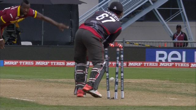 UAE innings highlights