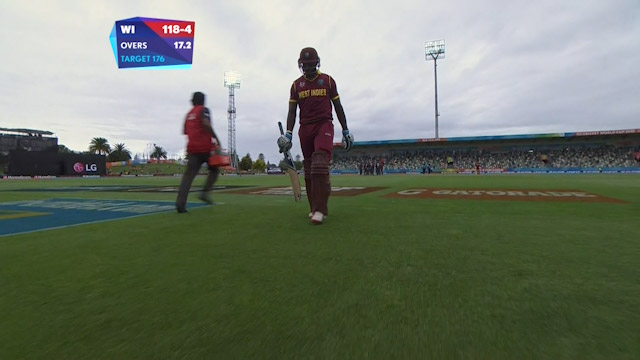 Andre Russell Wicket – WI vs UAE