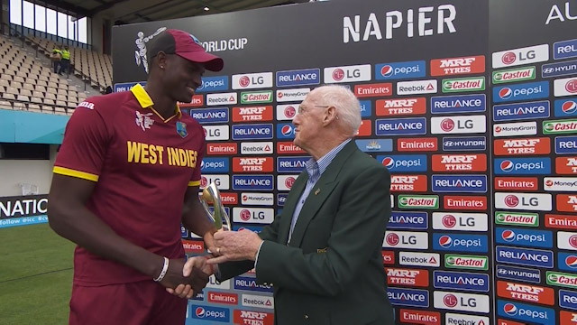 Player of the Match – Jason Holder