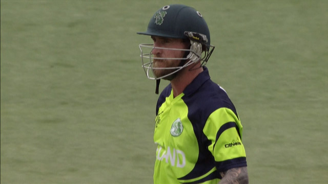 John Mooney Wicket – PAK vs IRE