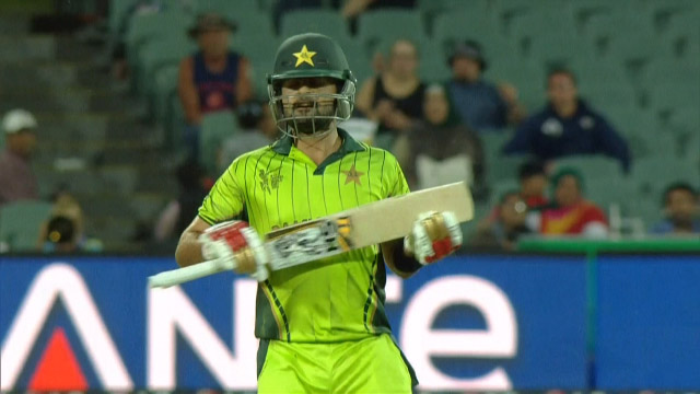 Ahmed Shehzad Wicket – PAK vs IRE