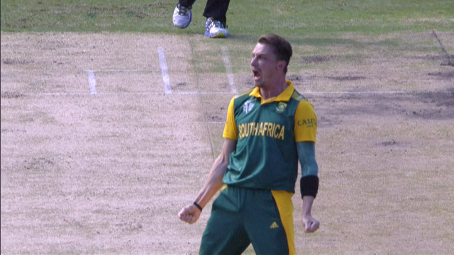 Dale Steyn's Celebration!