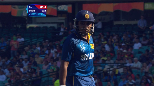 Mahela Jayawardene Wicket – SL vs SA