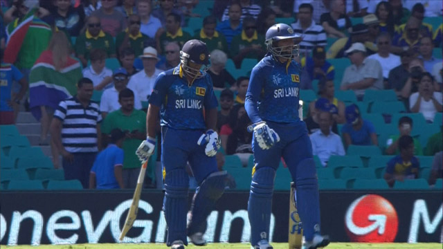 Sri Lanka innings highlights