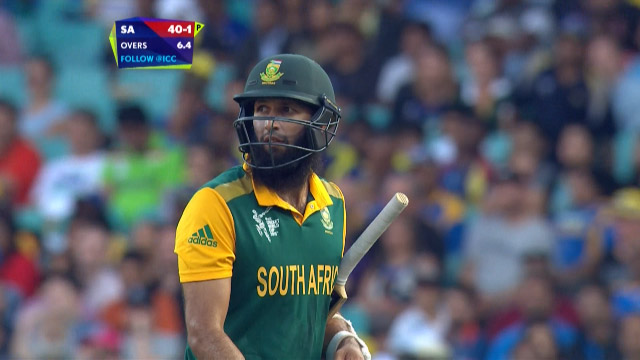 South Africa innings wickets