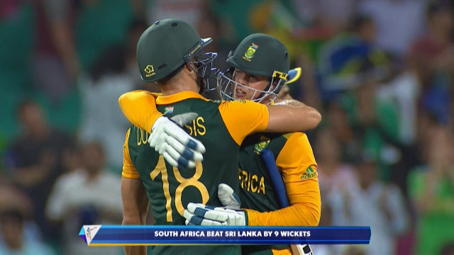Sri Lanka v South Africa Match Highlights