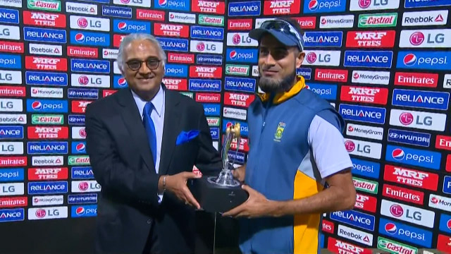 Player of the Match – Imran Tahir