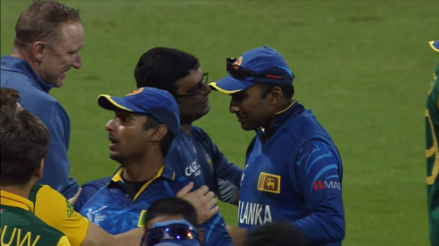 Kumar Sangakkara and Mahela Jayawardene bid final at World Cup