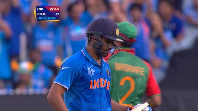 Rohit Sharma Wicket – IND vs BAN