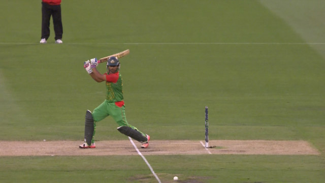 Bangladesh innings super shots