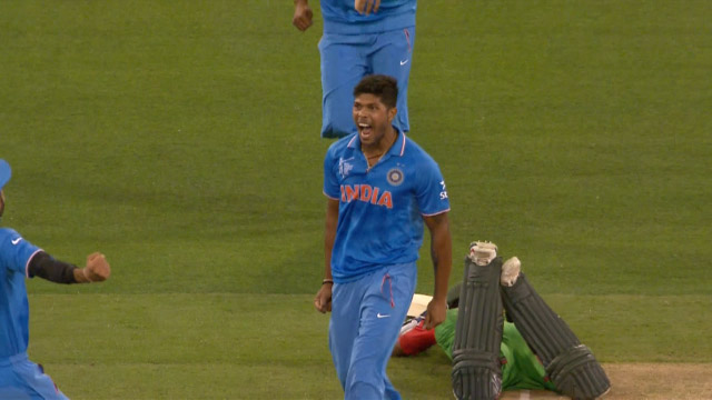 Umesh Yadav , 4-31 vs Bangladesh