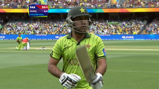 Sarfraz Ahmed Wicket – AUS vs PAK