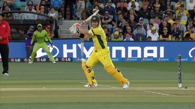 Australia innings super shots