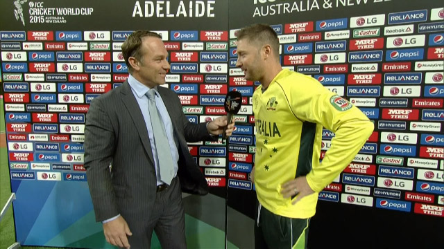 Match Presentation – AUS vs PAK