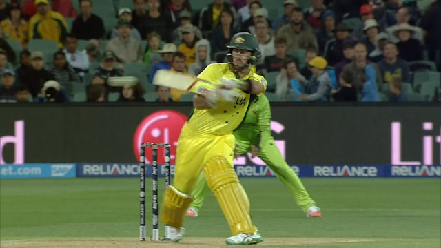 Glenn Maxwell's innovative new shot