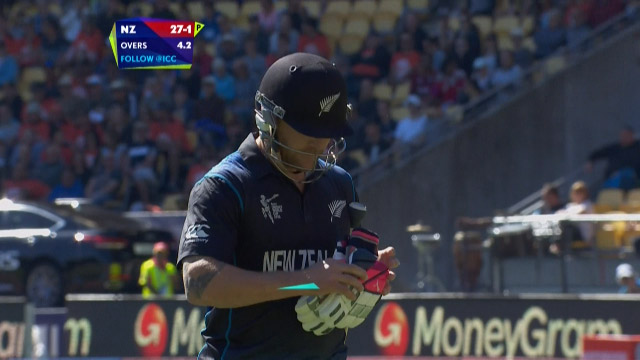Brendon McCullum Wicket – WI vs NZ