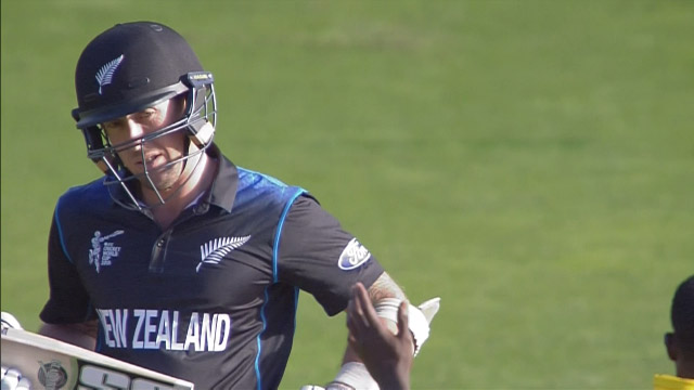 Luke Ronchi Wicket – WI vs NZ