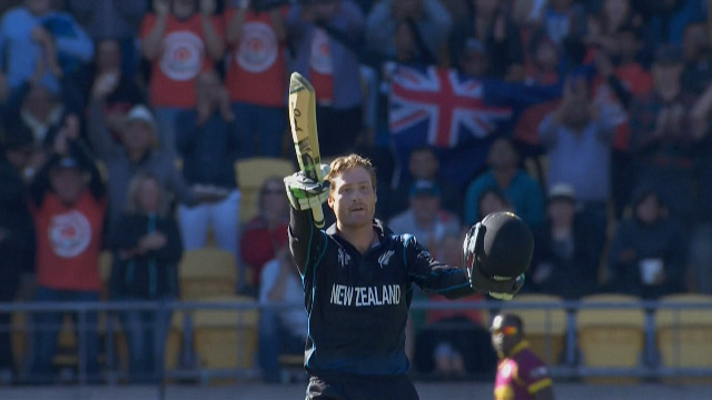 Martin Guptill double century CWC Quarter Final