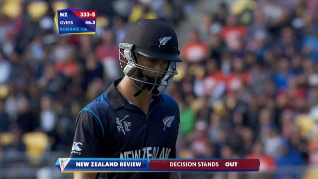 Grant Elliott Wicket – WI vs NZ