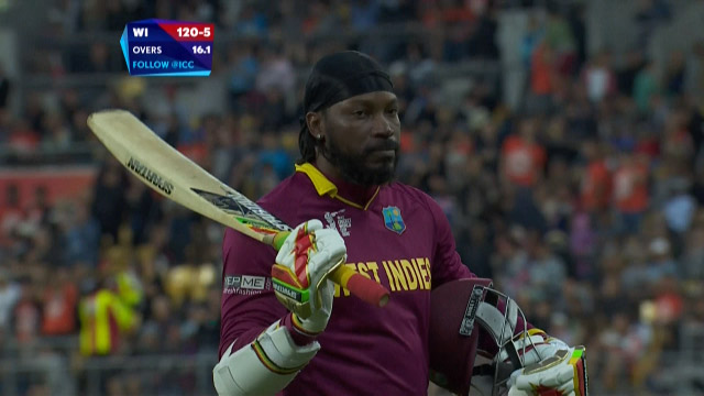 Chris Gayle Wicket – WI vs NZ