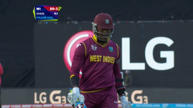 Marlon Samuels Wicket – WI vs NZ