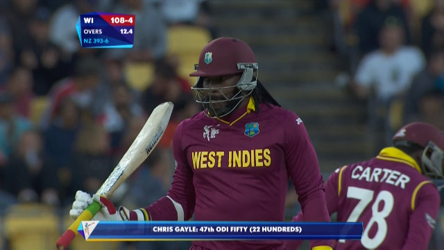 Chris Gayle, 61 vs New Zealand