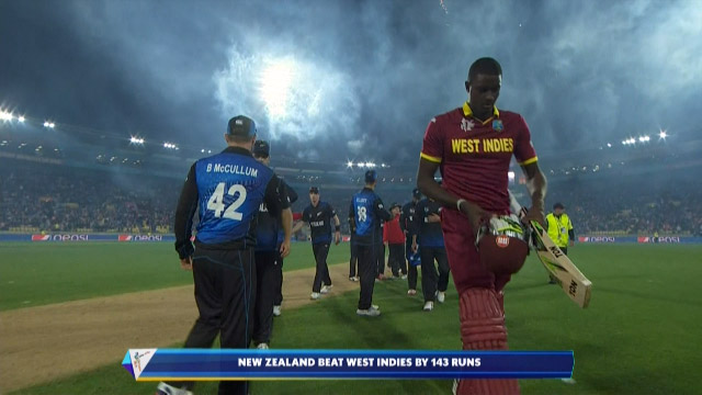 Jason Holder Wicket – WI vs NZ