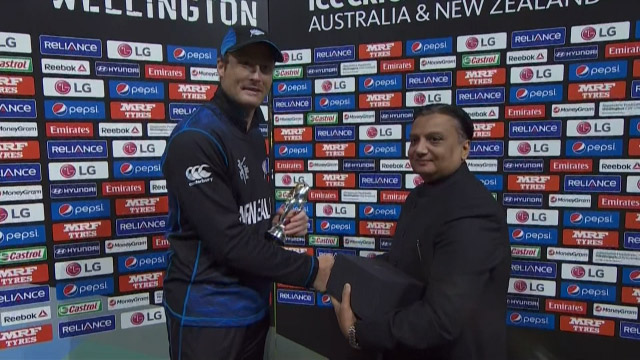 Player of the Match – Martin Guptill