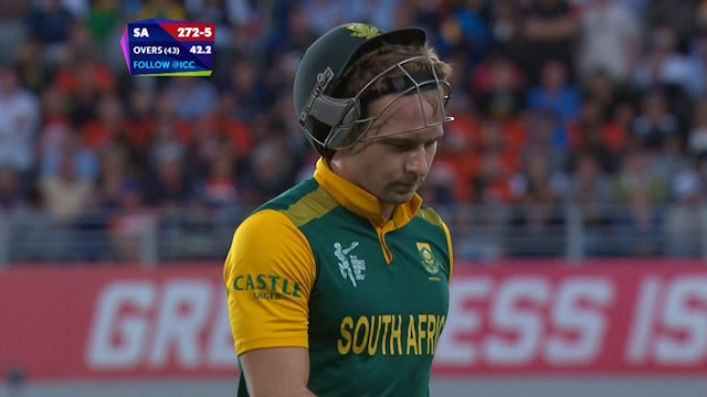 David Miller Wicket – SA vs NZ