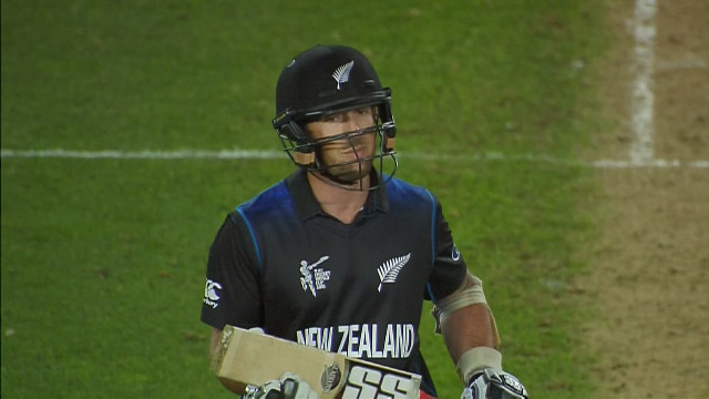 New Zealand innings wickets