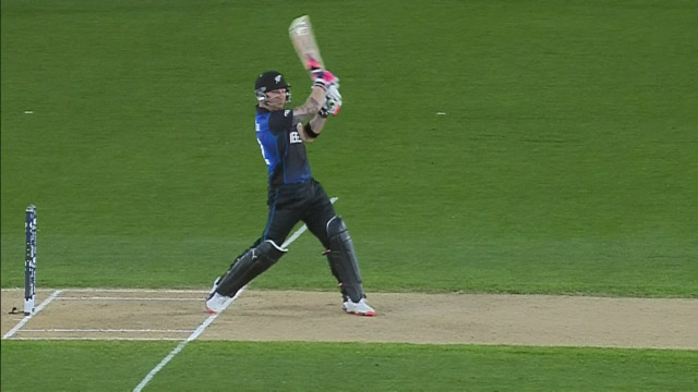 Match Hero – Brendon McCullum