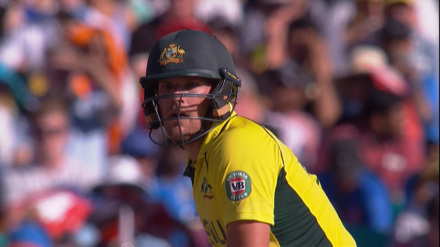 Aaron Finch, 81 vs India