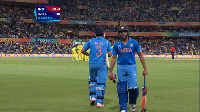 Rohit Sharma Wicket – IND vs AUS