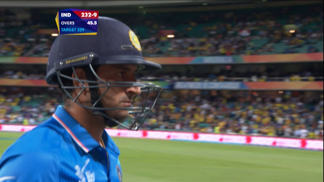Mohit Sharma Wicket – IND vs AUS