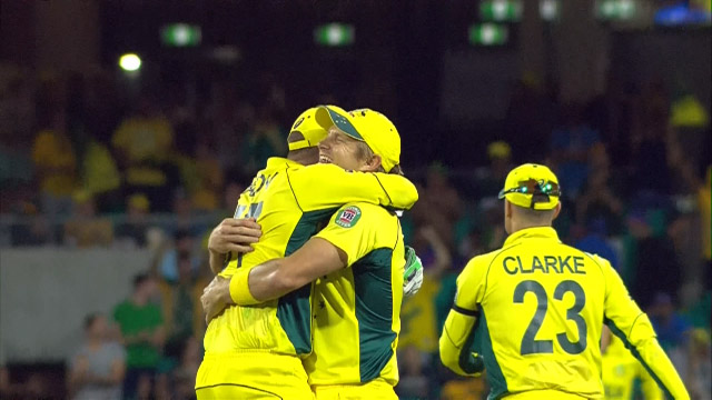 Australia v India Match Highlights CWC Semi-Final