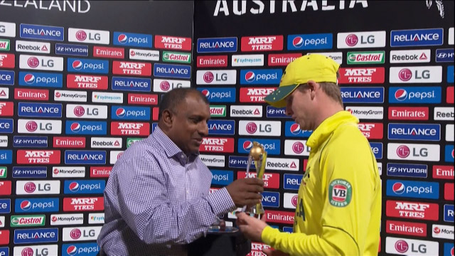 Player of the Match – Steven Smith