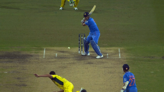 Match Hero – MS Dhoni