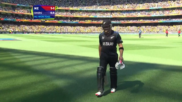 Brendon McCullum Wicket – AUS vs NZ