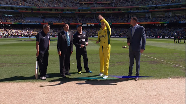 Toss, Pitch Report – AUS vs NZ