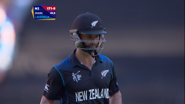 Grant Elliott Wicket – AUS vs NZ