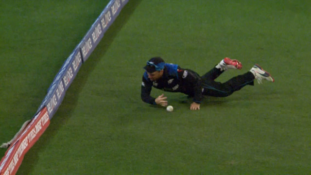 Another Brilliant McCullum Boundary save