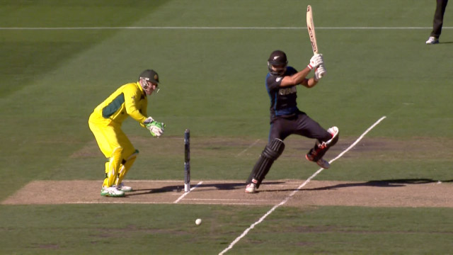 New Zealand innings super shots