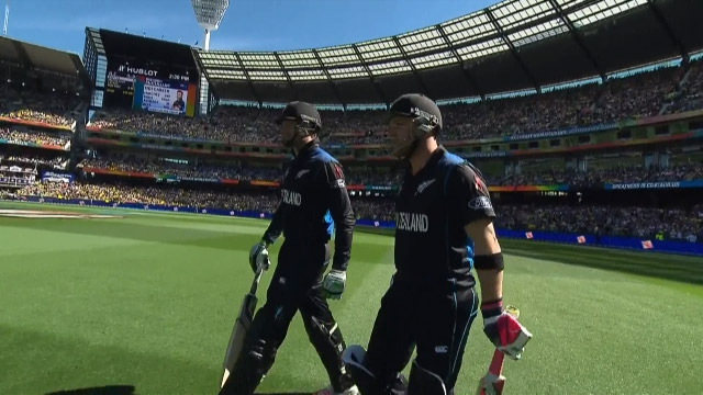 New Zealand innings highlights