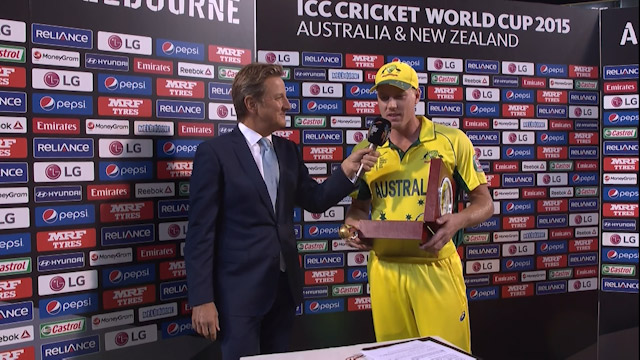 Player of the Match – James Faulkner