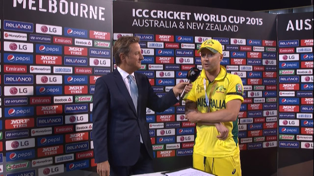 Match Presentation – AUS vs NZ