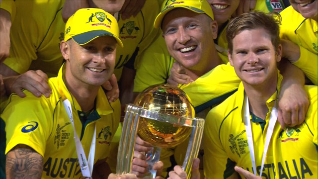 Australia World Cup Celebrations at MCG !