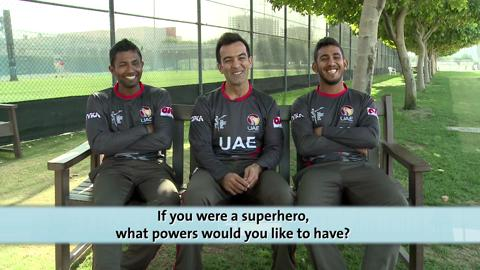 Quick-Fire Questions with the UAE Team
