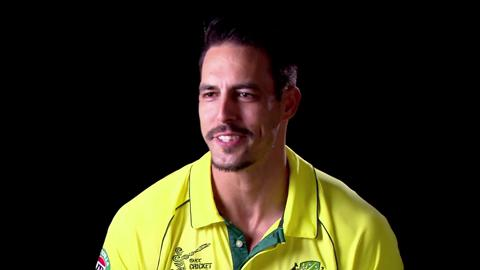 Mitchell Johnson on his Team-mates
