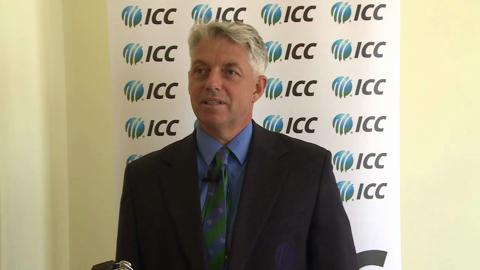 ICC Chief Executive Richardson pleased with ICC Cricket Committee meeting